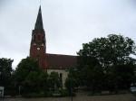 Landschaft Kirche Stargard