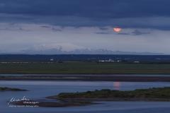 Island Mondaufgang
