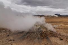 Island Hochtemperaturgebiet