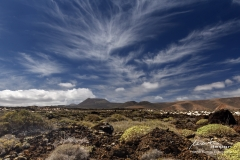 Lavafeld auf Lanzarote