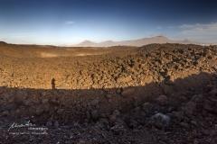 Lava und Krater