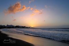 Sonnenaufgang am Playa de los Pocillos