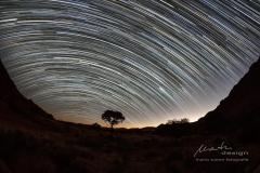 Sternenhimmel über den Tirasbergen