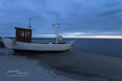 Fischerboot in Koserow